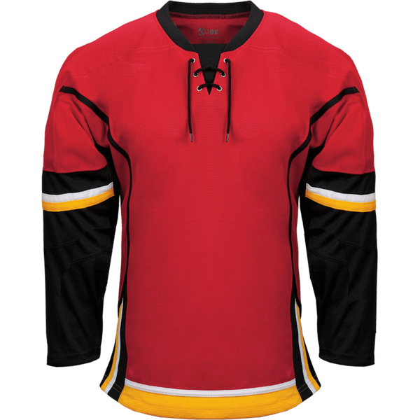 Premium Team Jersey: Calgary Flames Red - Canadian Jersey Superstore