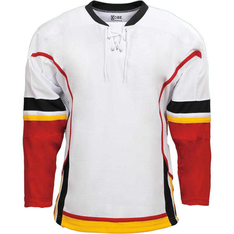 Premium Team Jersey: Calgary Flames White - Canadian Jersey Superstore