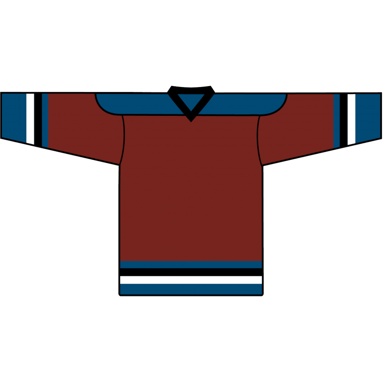 Value Team Jersey: Colorado Avalanche Burgundy - Canadian Jersey Superstore