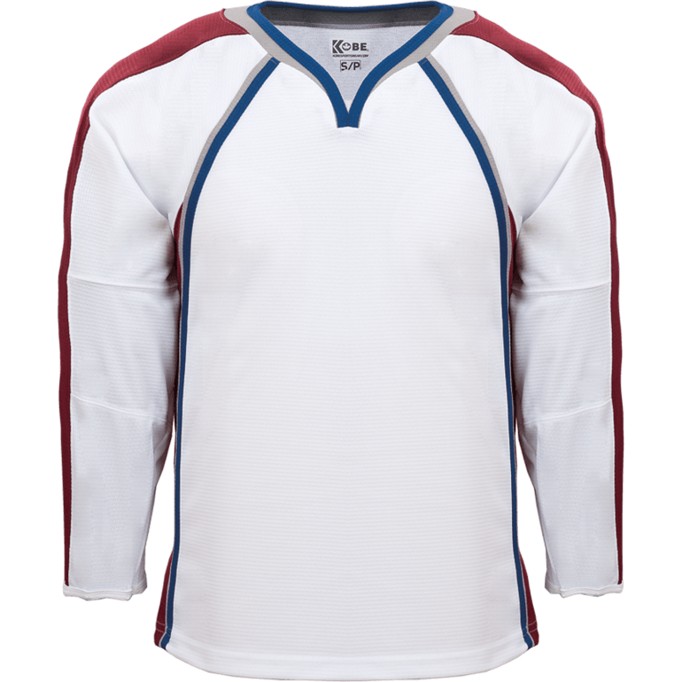 Premium Team Jersey: Colorado Avalanche White - Canadian Jersey Superstore