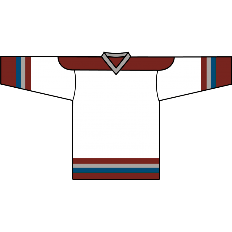 new style badec 5c1df Value Team Jersey: Colorado Avalanche White