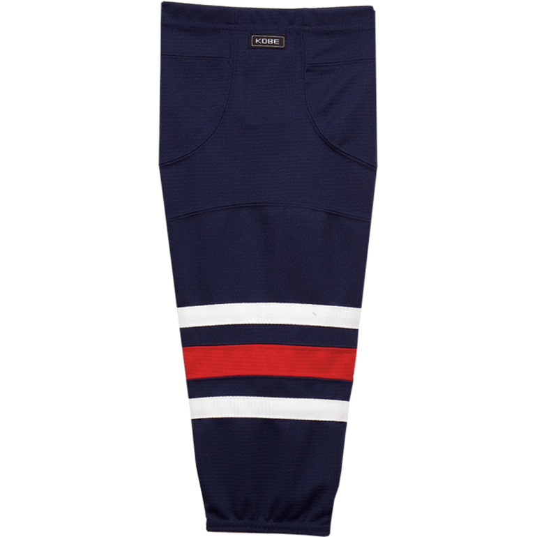 Premium NHL Pattern Socks: Columbus Blue Jackets Navy - Canadian Jersey Superstore