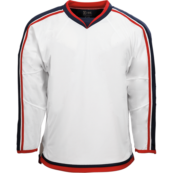 Premium Team Jersey: Columbus Blue Jackets White - Canadian Jersey Superstore
