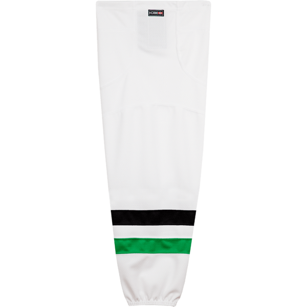 Premium NHL Pattern Socks: Dallas Stars White - Canadian Jersey Superstore
