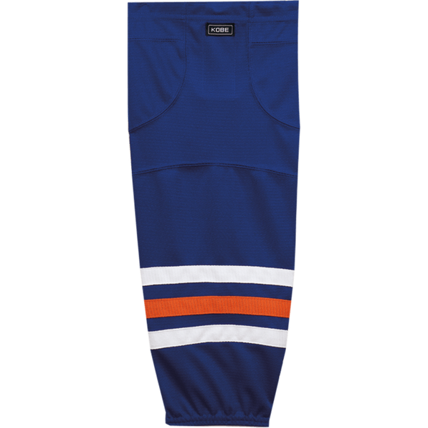 Premium NHL Pattern Socks: Edmonton Oilers Blue - Canadian Jersey Superstore