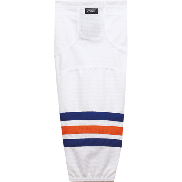 Premium NHL Pattern Socks: Edmonton Oilers White - Canadian Jersey Superstore