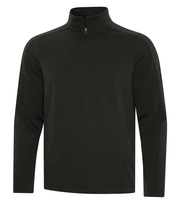 Performance Fleece Sweater: Solid Colours 1/2 Zip