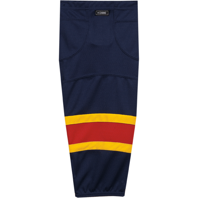 Premium NHL Pattern Socks: Florida Panthers Navy - Canadian Jersey Superstore