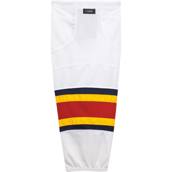 Premium NHL Pattern Socks: Florida Panthers White - Canadian Jersey Superstore