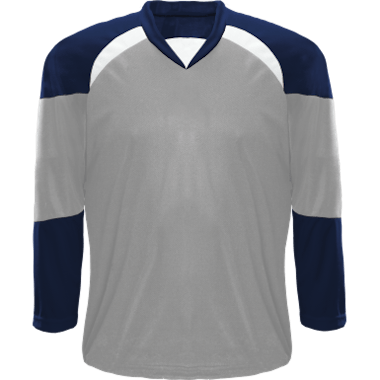 Economical Team Jersey: Grey/Navy/White