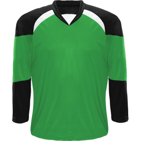Economical Team Jersey: Kelly Green/Black/White