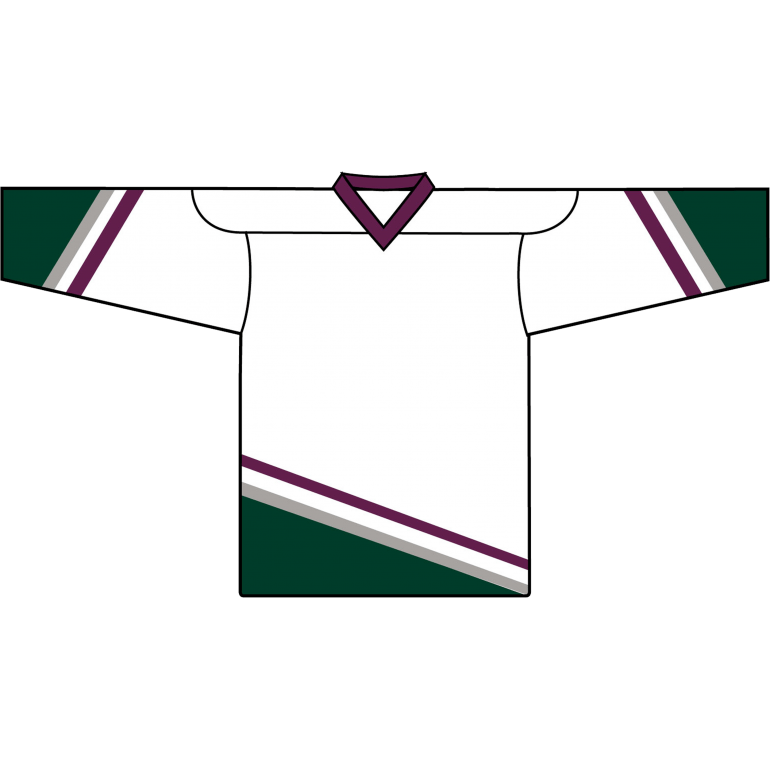 Retro Team Jersey: Mighty Ducks of Anaheim 1993 White - Canadian Jersey Superstore