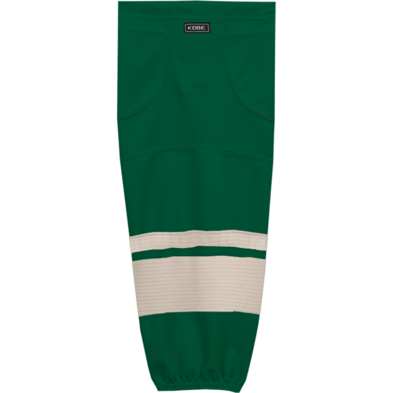 Premium NHL Pattern Socks: Minnesota Wild Green - Canadian Jersey Superstore