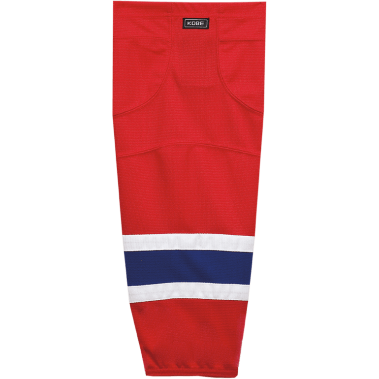 Premium NHL Pattern Socks: Montreal Canadiens Red - Canadian Jersey Superstore