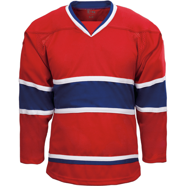 Premium Team Jersey: Montreal Canadiens Red - Canadian Jersey Superstore