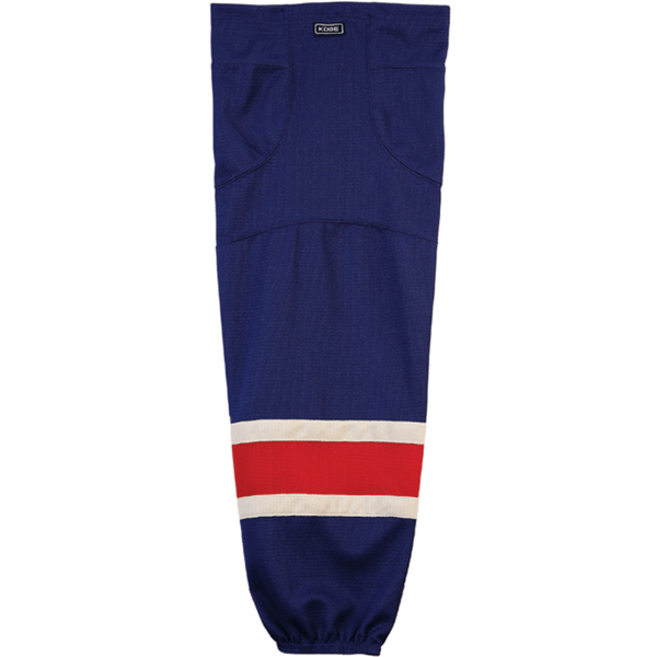 Premium NHL Pattern Socks: New York Rangers Alternate - Canadian Jersey Superstore