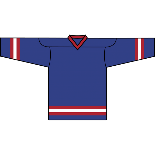 Value Team Jersey: New York Rangers Blue - Canadian Jersey Superstore