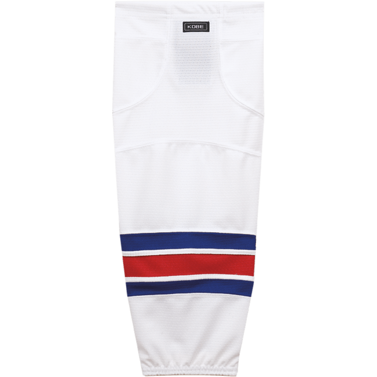 Premium NHL Pattern Socks: New York Rangers White - Canadian Jersey Superstore