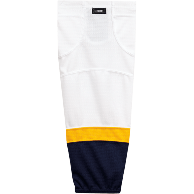 Premium NHL Pattern Socks: Nashville Predators 2007-11 White - Canadian Jersey Superstore