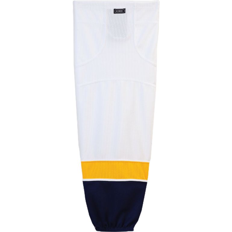 Premium NHL Pattern Socks: Nashville Predators White - Canadian Jersey Superstore
