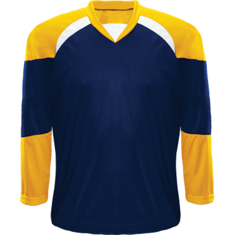 Economical Team Jersey: Navy/Gold/White