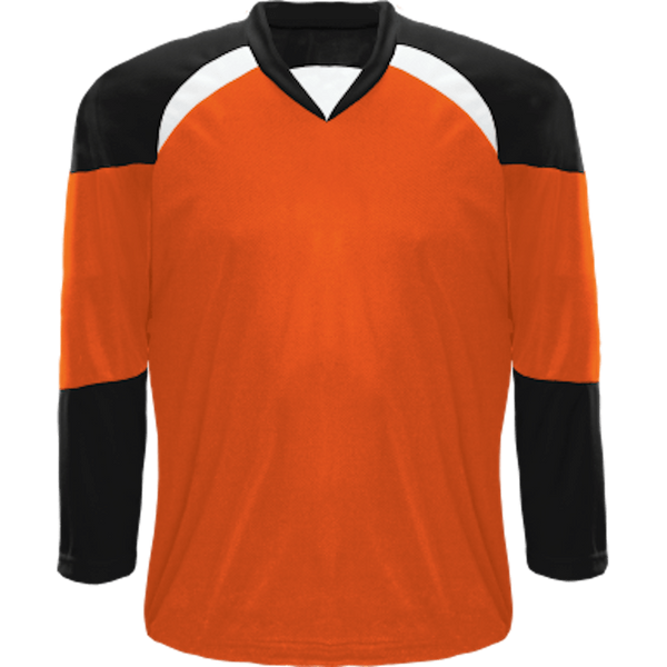 Economical Team Jersey: Orange/Black/White