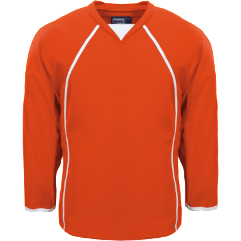 Premium Practice Jersey: Orange - Canadian Jersey Superstore