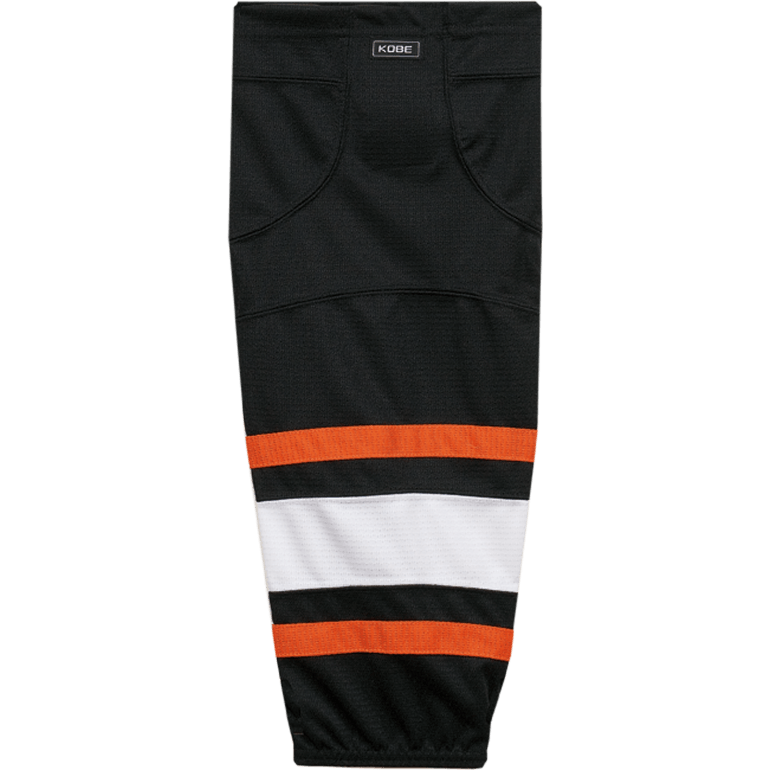Premium NHL Pattern Socks: Philadelphia Flyers 2007-11 Black - Canadian Jersey Superstore