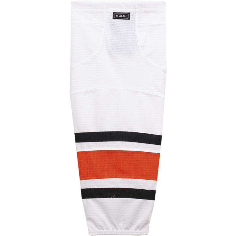 Premium NHL Pattern Socks: Philadelphia Flyers 2007-11 White - Canadian Jersey Superstore