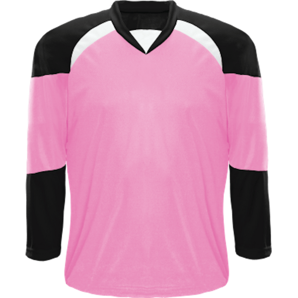 Economical Team Jersey: Pink/Black/White