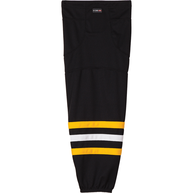 Premium NHL Pattern Socks: Pittsburgh Penguins Alternate Black - Canadian Jersey Superstore