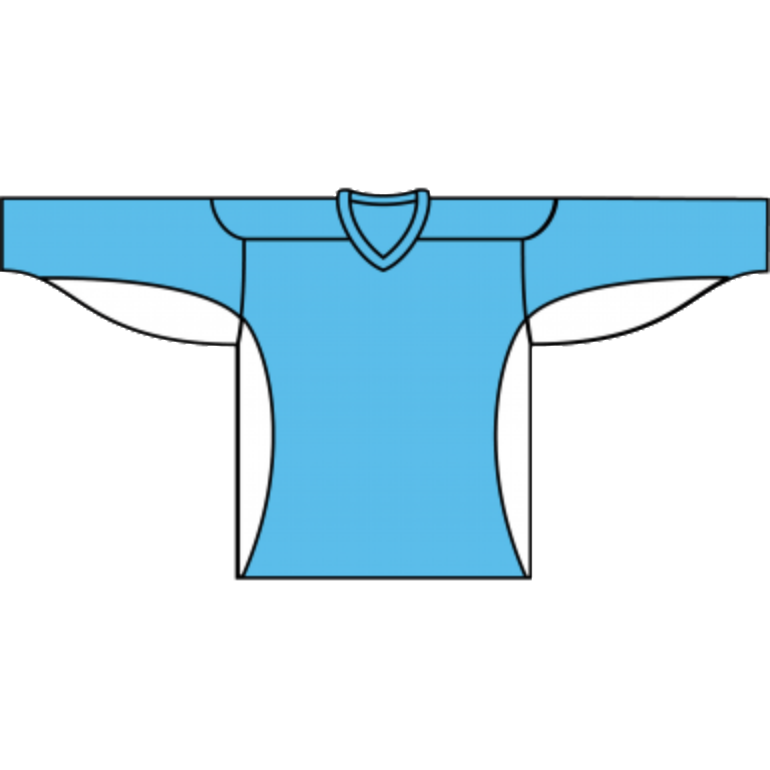 Value Practice Jersey: Powder Blue - Canadian Jersey Superstore