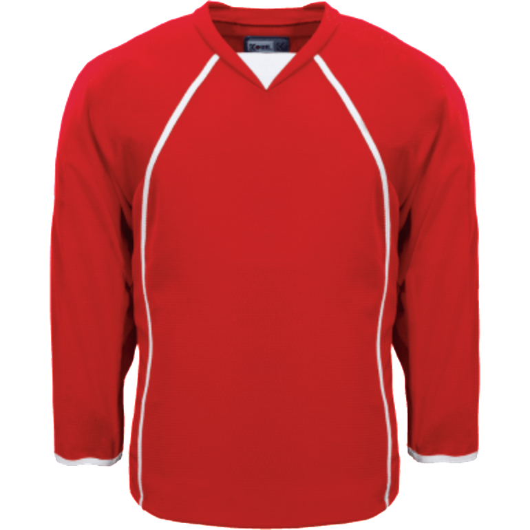 Premium Practice Jersey: Red - Canadian Jersey Superstore