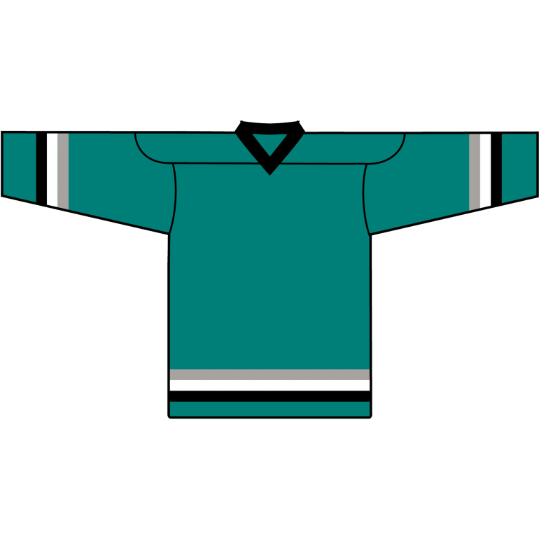 Value Team Jersey: San Jose Sharks Teal - Canadian Jersey Superstore