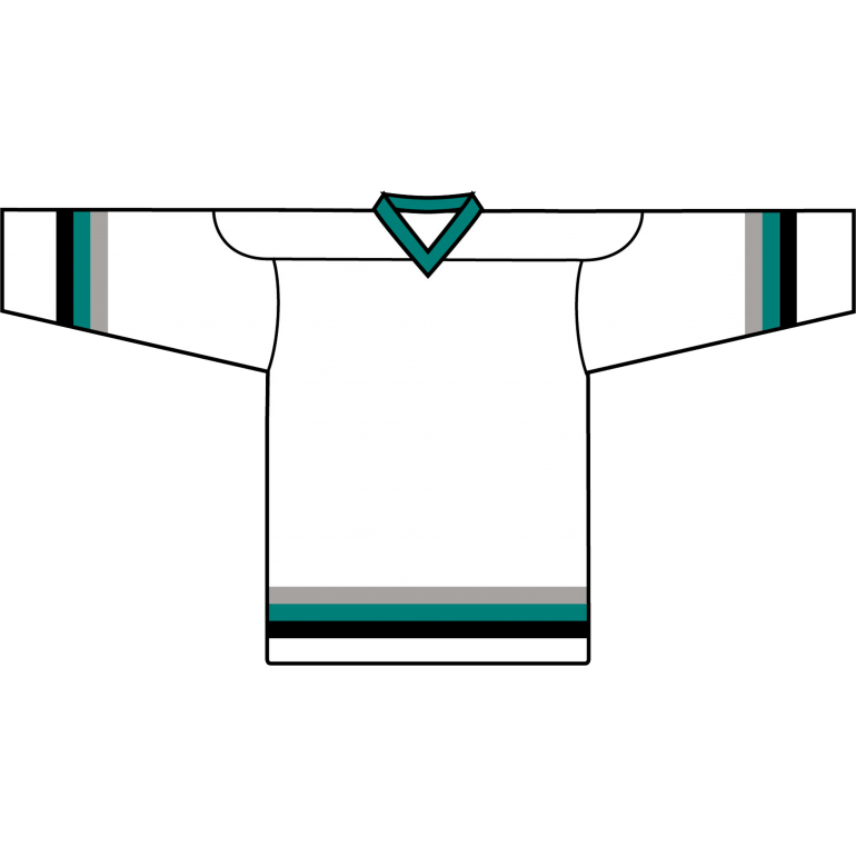 Value Team Jersey: San Jose Sharks White - Canadian Jersey Superstore
