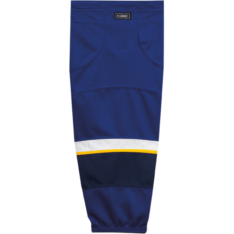 Premium NHL Pattern Socks: St. Louis Blues Blue - Canadian Jersey Superstore