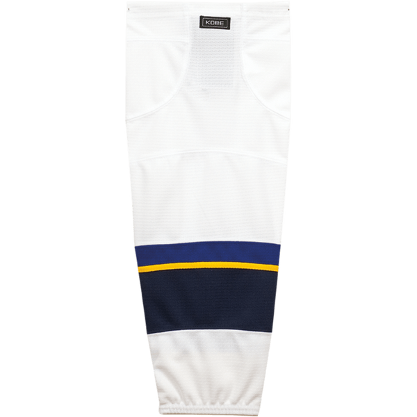 Premium NHL Pattern Socks: St. Louis Blues White - Canadian Jersey Superstore