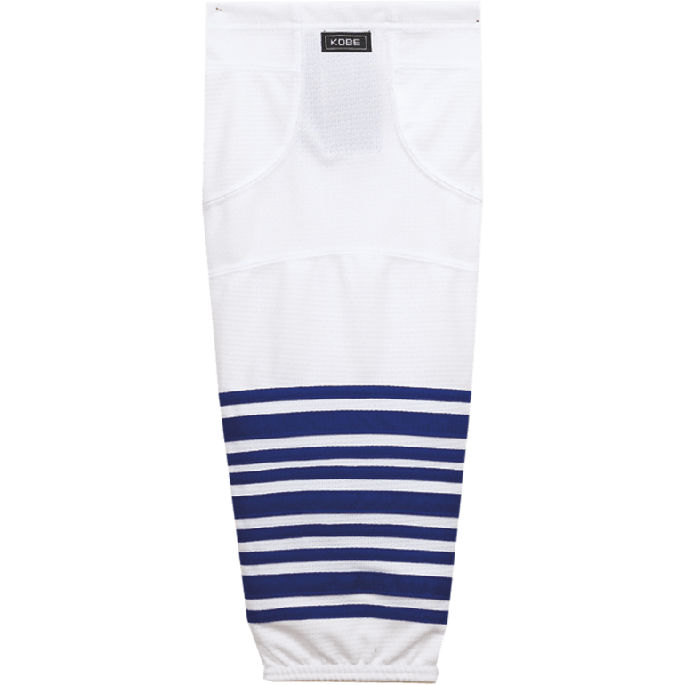 Premium NHL Pattern Socks: Toronto Maple Leafs White - Canadian Jersey Superstore