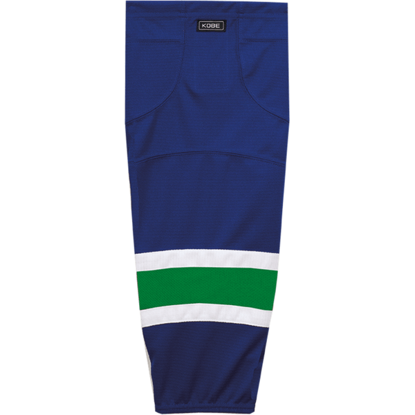 Premium NHL Pattern Socks: Vancouver Canucks Blue - Canadian Jersey Superstore