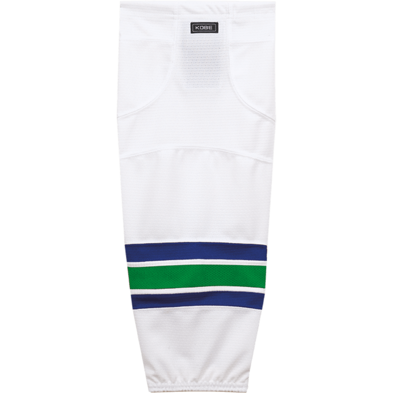 Premium NHL Pattern Socks: Vancouver Canucks White - Canadian Jersey Superstore