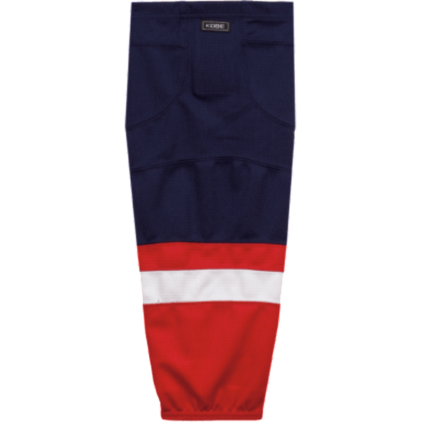 Premium NHL Pattern Socks: Washington Capitals Red - Canadian Jersey Superstore