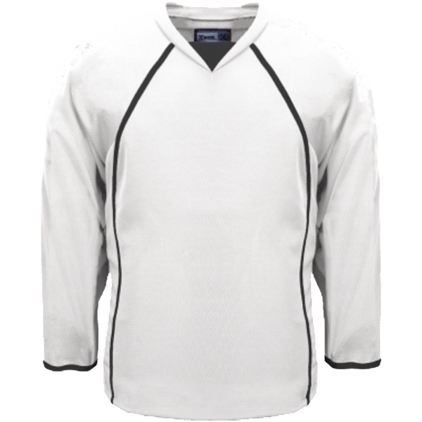 Premium Practice Jersey: White - Canadian Jersey Superstore