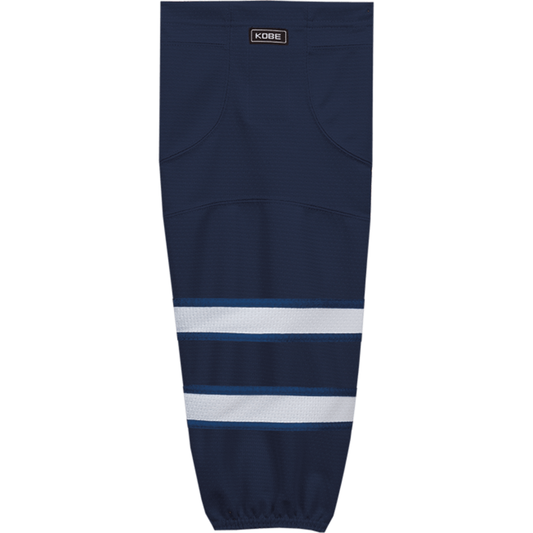 Premium NHL Pattern Socks: Winnipeg Jets Navy - Canadian Jersey Superstore