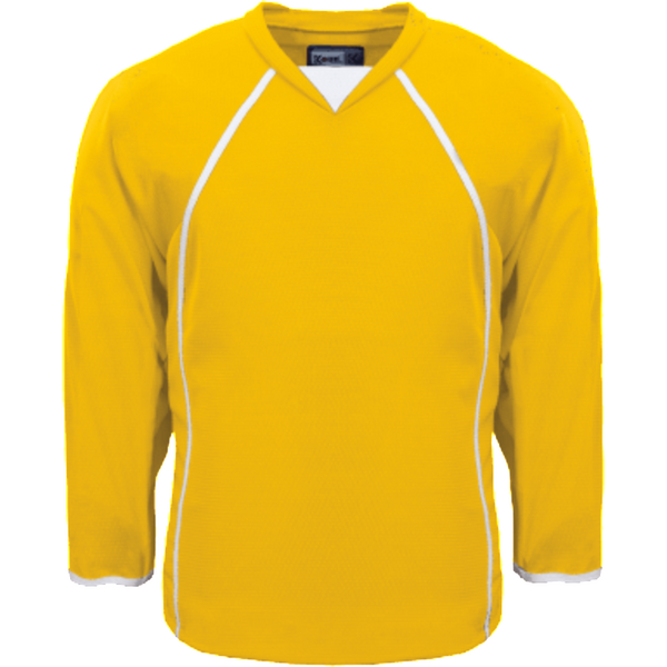 Premium Practice Jersey: Yellow - Canadian Jersey Superstore