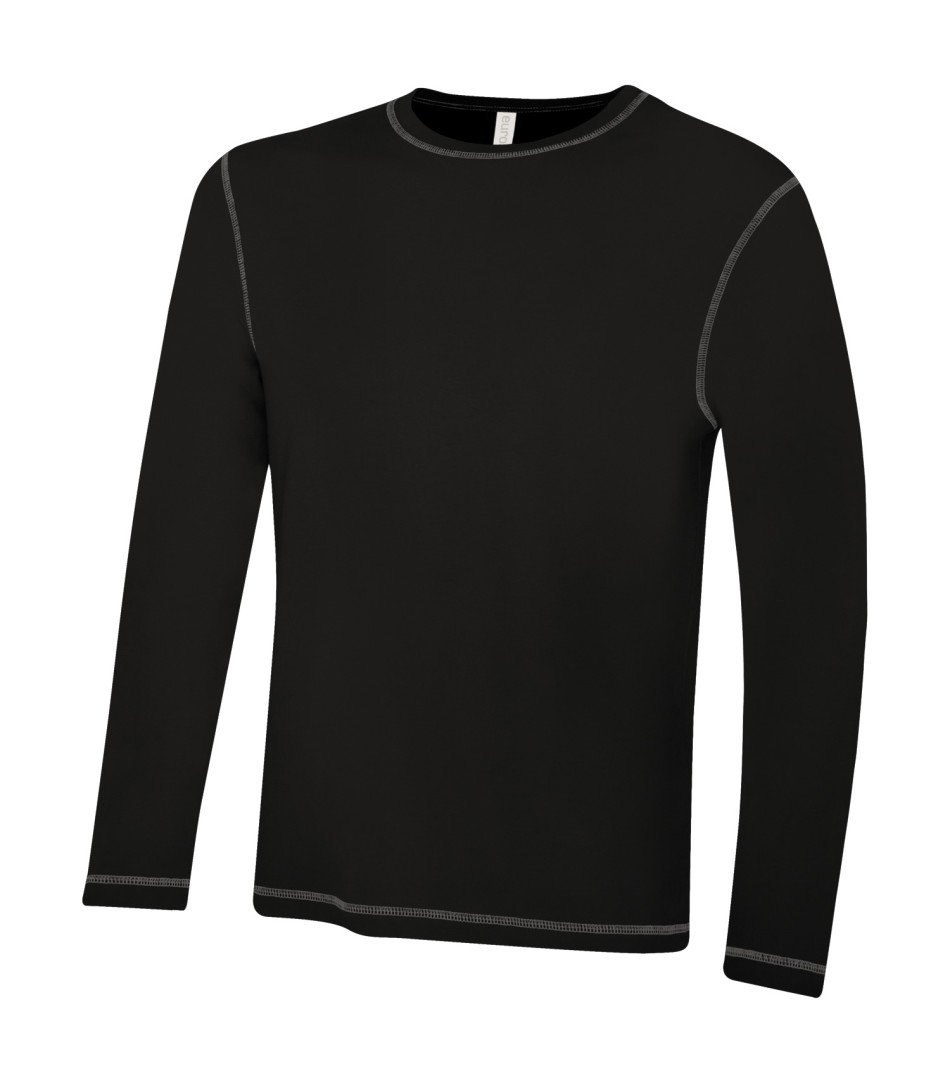 Premium Long Sleeve: Contrast Stitch