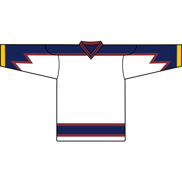 Retro Team Jersey: Atlanta Thrashers 1999 White - Canadian Jersey Superstore