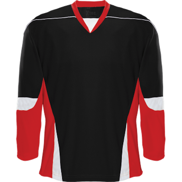 Alternative Team Jersey: Black/Red/White