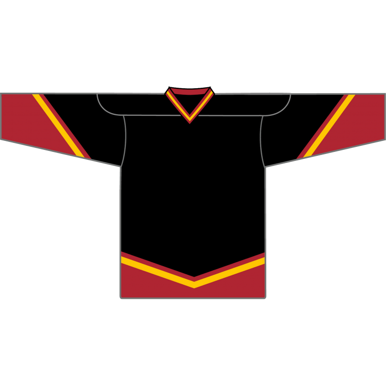 Retro Team Jersey: Calgary Flames 1998 Black - Canadian Jersey Superstore