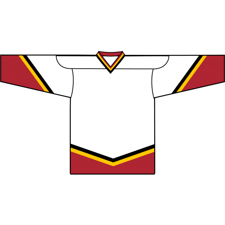 Retro Team Jersey: Calgary Flames 2000 White - Canadian Jersey Superstore
