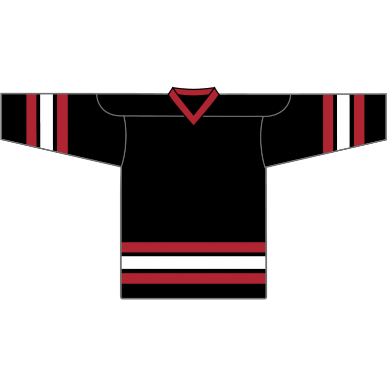 Retro Team Jersey: Chicago Blackhawks 1996 Black - Canadian Jersey Superstore
